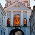 Gates of Dawn in Vilnius' Old Town (Ostra Brama, Wilno) - only 100 m away!