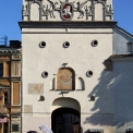 Gates of Dawn - entrance to the medieval Vilnius - only 100 m away