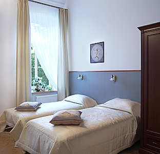Twin standard room with private bathroom - Florens Boutique in Vilnius